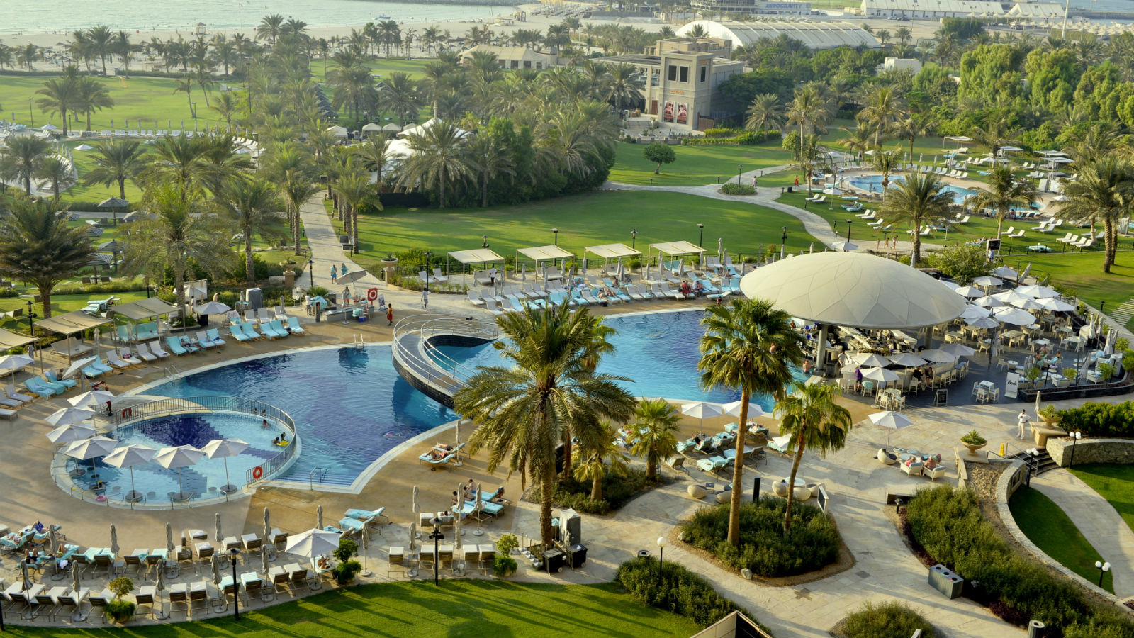 Kick Back And Relax On The Golden Sands Of Jumeirah Beach And Enjoy Le  Royal Meridienu0027s Acres Of Tropical Gardens Before Cooling Off In One Of The  Hotelu0027s ...